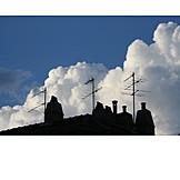 Silhouette, Antenna, House antenna