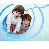 Child, Fun & Games, Game Tunnel