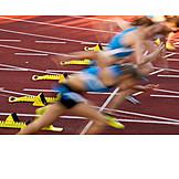 Sport & Fitness, Laufen, Rennen, Wettkampf, Schnell, Wettrennen, Sportler, Läufer, Dynamik, Lauf, Sprint, Laufsport, Sprinten, Sprinter