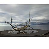 Sculpture, Viking ship