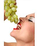 Indulgence & Consumption, Eating, Grape