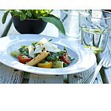 Salad, Italian cuisine, Mediterranean cuisine, Pasta salad