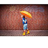 Girl, Weather, Galoshes, Rainwear, Rain protection