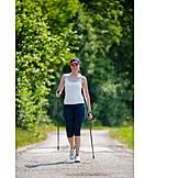 Sport & Fitness, Aktiv, Nordic Walking