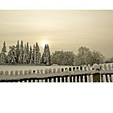 Winter landscape, Winterly