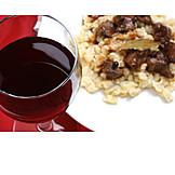 European Cuisine, Wine Glass, Red Wine