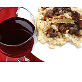 European Cuisine, Wine Glass, Red Wine