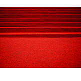 Staircase, Reception, Festive, Red Carpet