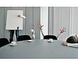 Büro & Office, Meeting, Besprechung, Präsentation