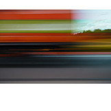 Blurred motion, On the move, Driving