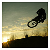 Extreme Sports, Jump, Mountain Bike