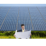 Ecologically, Solar Energy, Engineer, Solar Plant
