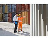Logistics, Container terminal, Arrangement