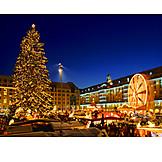 Christmas market, Dresden, Striezelmarkt