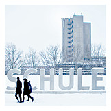 Winter, Schule, Soziales, Bildung