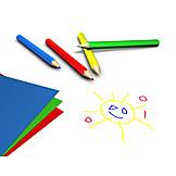 Fun & Games, Sun, Crayon