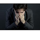 Zweifel & Sorge, Verzweifelt, Depression, Stress & Belastung, Burnout