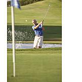 Aktiver Senior, Golf, Golfspieler