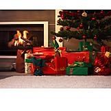 Christmas, Christmas tree, Pile