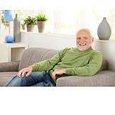 Senior, Domestic life