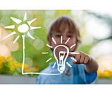 Energy, Green Electricity, Solar, Regenerative, Solar Energy