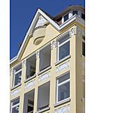 House, Multifamily, Art nouveau buildings