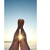 Sun, Sea, Legs