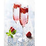 Sparkling, Strawberry punch, Strawberry sparkling wine