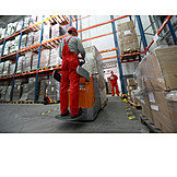 Job & Profession, Logistics, Storage, Forklift Driver