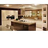Kitchen, Built In Kitchen