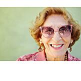 Senior, Sunglasses, Glasses, Portrait