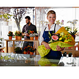 Bouquet, Sales executive, Flower shop, Shop, Florist