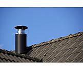 Smoke stack, Ventilation tube