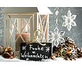Christmas decoration, Candlelight, Merry christmas
