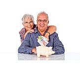 Save, Savings, Pensions, Savers, Older Couple