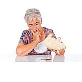 Seniorin, Zweifel & Sorge, Sparen, Altersvorsorge