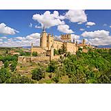 Castle, Castle, Alcázar of segovia