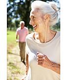 Senior, Active Seniors, Cheerful, Omitted, Runaway