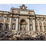 Rome, Palace, Trevi fountain