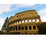 Christmas tree, Rome, Colosseum