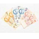 Banknote, Dollar, Singapore dollar