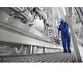 Industry, Engineer, Factory Building, Industrial Workers