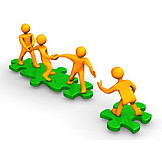 Teamwork, Cooperation, Support