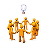Togetherness, Teamwork, Brainstorming