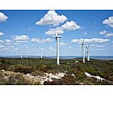 Pinwheel, Wind power