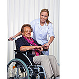 Care & Charity, Wheelchair, Caregiver
