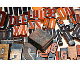 Letter, Rubber Stamp, Typo