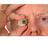 Eyeball, Eye prosthesis