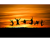 Jump, Vitality, Jumping, Jump Joy, Clique