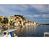 Croatia, Sibenik, Adriatic coast